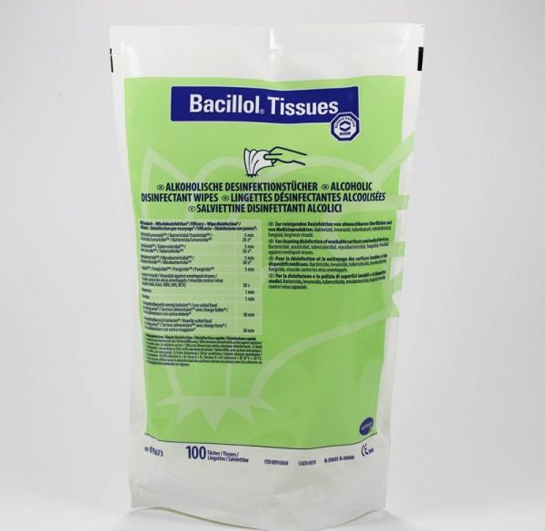 Bacillol Tissues Nachfüllpackung Flächendesinfektionstücher