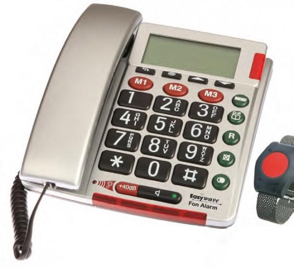 Notruftelefon Easywave Fon Alarm inkl. Armbandsender