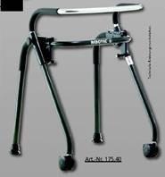 """Rollator """"Walk on"""" mit schwenbaren Rädern"""