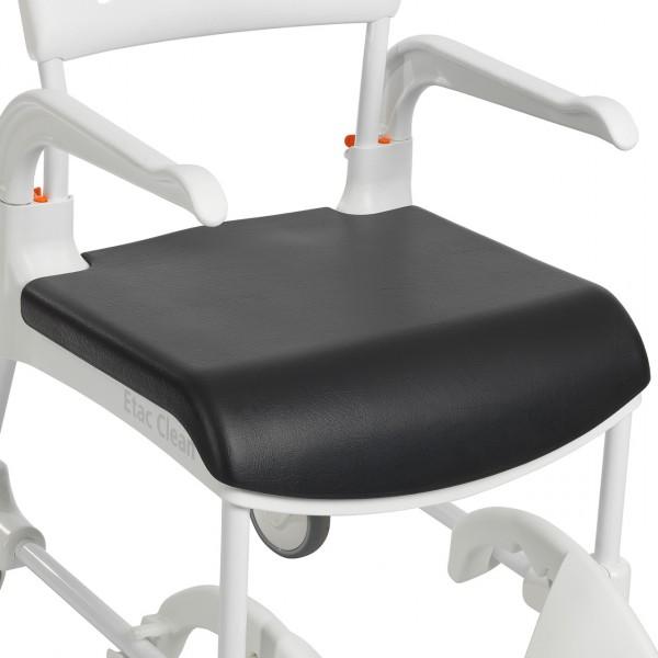 Sitzauflage für Etac Clean, geschlossen grau