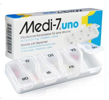 Medikamentendispenser Medi 7 uno
